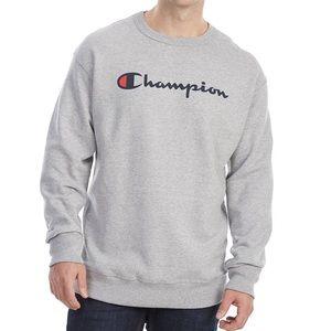 Mens 2xl gray champion pullover